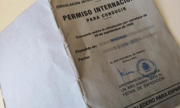 Cómo sacar el carnet internacional de conducir