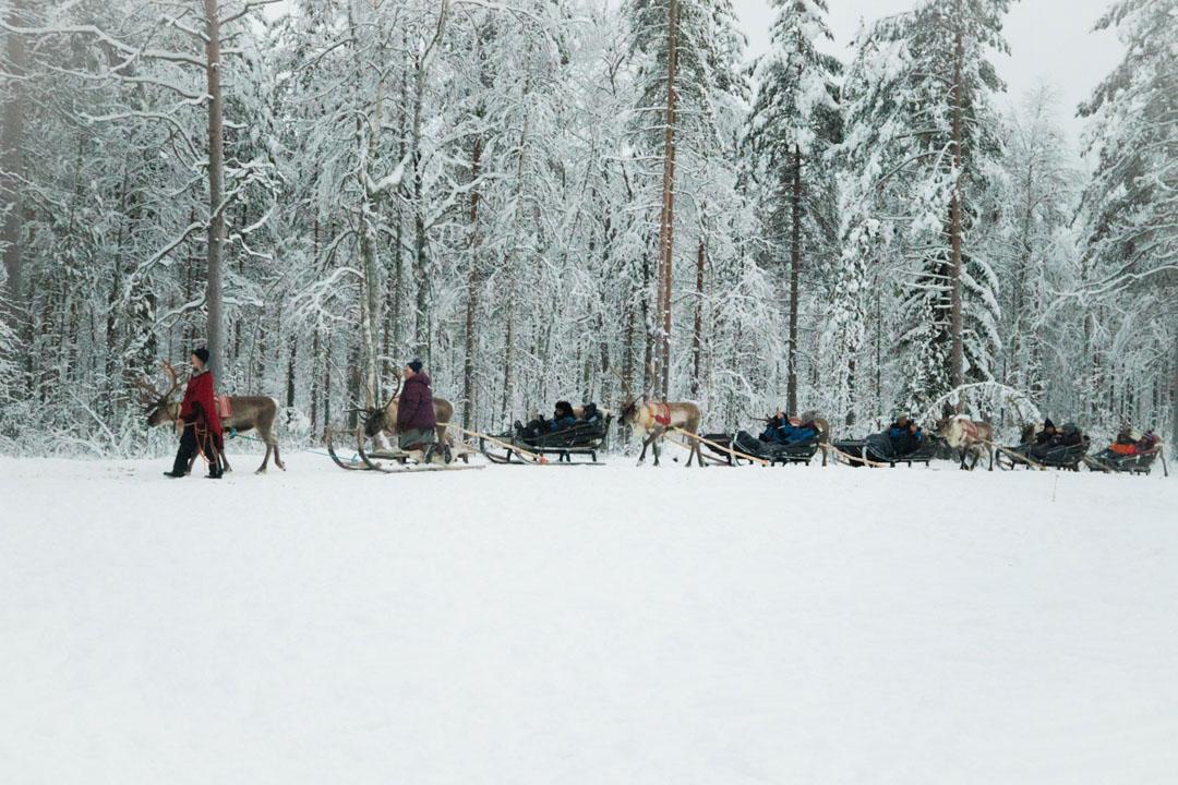 Papa Noel Rovaniemi y Laponia