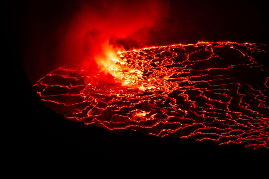 Congo volcán Nyirangongo