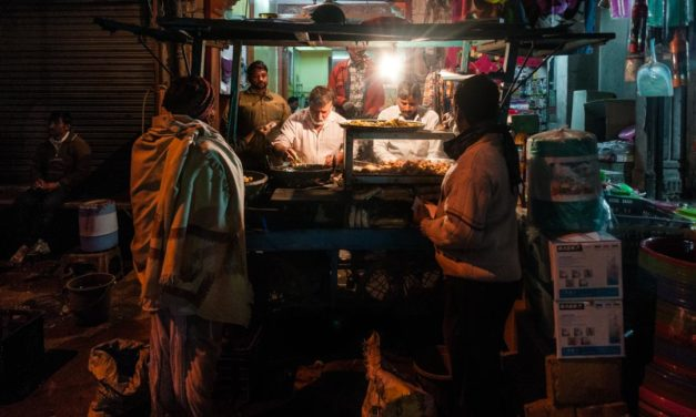 Delhi de noche
