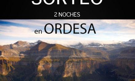 Sorteo «Dos noches en Ordesa»