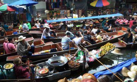 Guía: Mercados flotantes en Bangkok